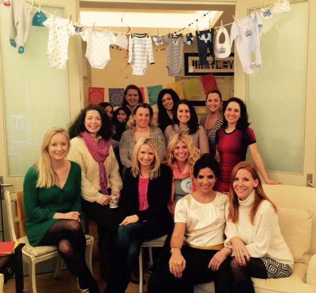 baby shower psychic reading party