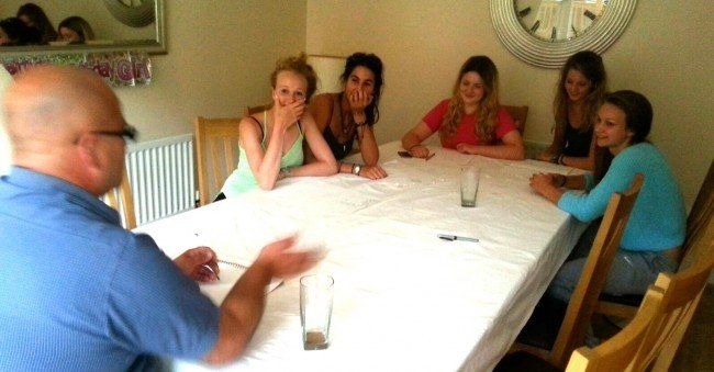 Clairvoyant tarot party - birthday party www.spiritualevents.co.uk