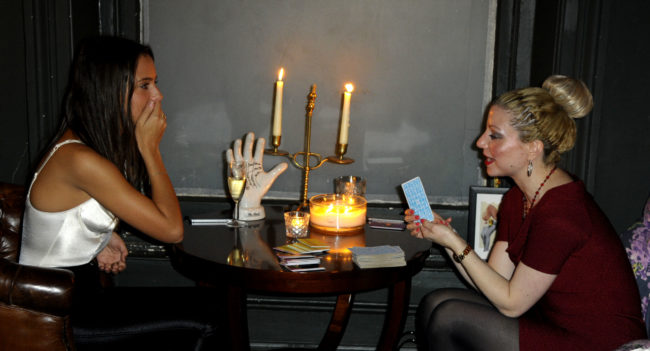 london event hire a psychic www.spiritualevents.co.uk fashion show