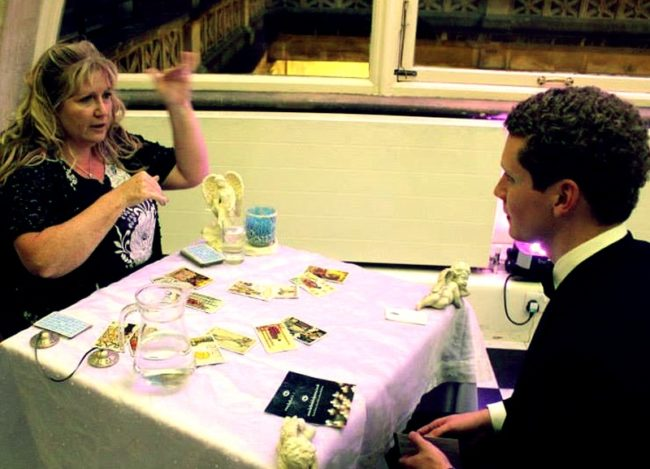 tarot reading events UK psychic for hire corporate spiritualevents uk