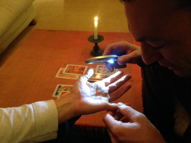 Ace of Swords Palmistry and Tarot with Mr. Ace. spiritualevents palm reader for hire