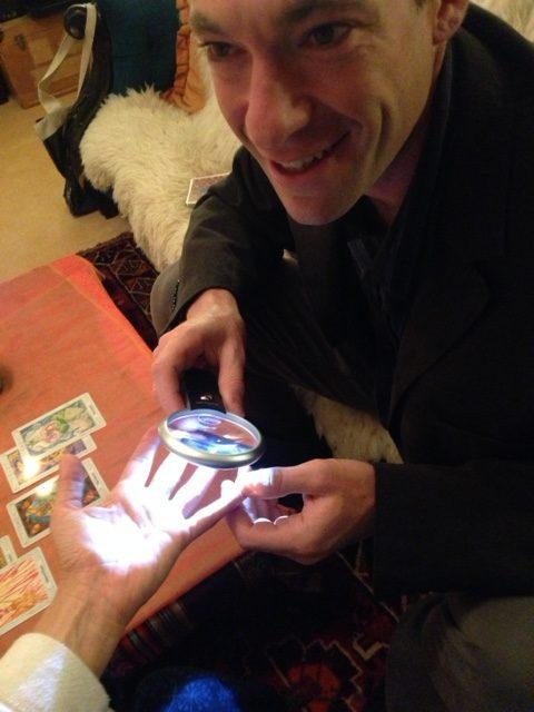 Ace of Swords Palmistry and Tarot with Mr. Ace spiritual events