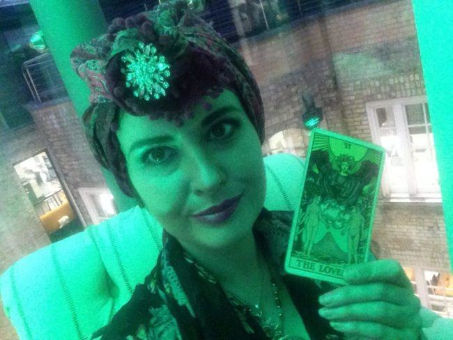 Bambayla London event spiritualevents.co.uk tarot card reader for hire