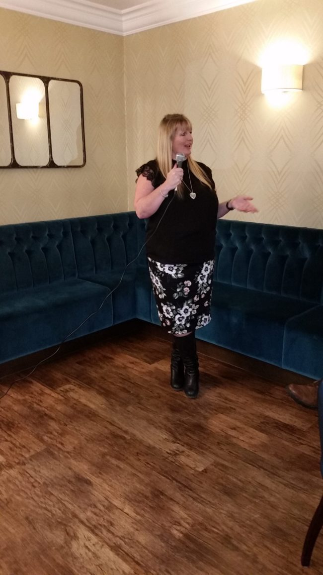 Natasha rose spiritualevents.co.uk mediumship demo lincoln