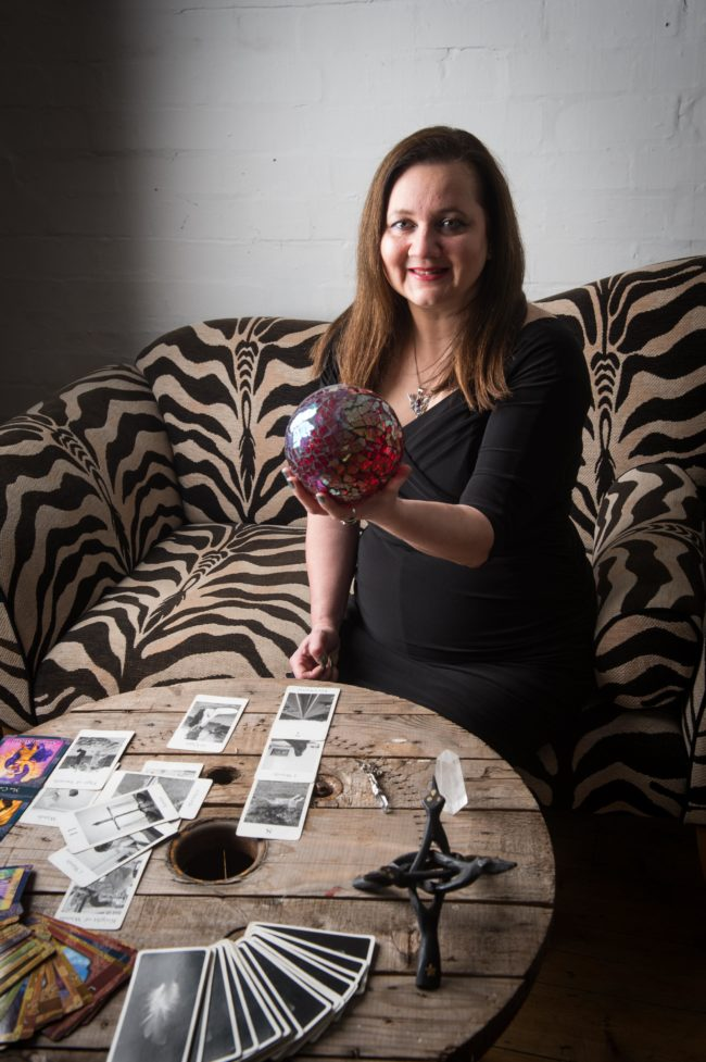 corporate entertainers crystal ball psychic tarot reader palm reader spiritualevents.co.uk