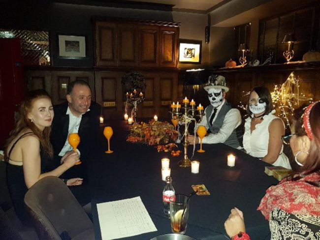 Psychic tarot spiritual readings for halloween with spiritualevents.co.uk england scotland wales