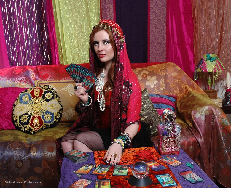 Psychic Bath tarot reading party