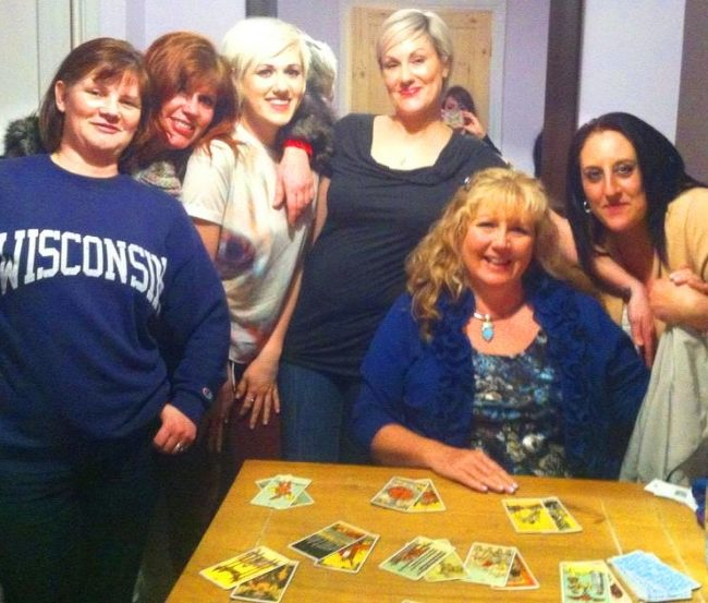 psychics near me book a Tarot party spiritualevents.co.uk hen party option