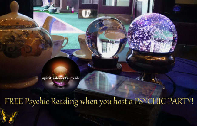 a PSYCHIC PARTY free reading spiritualevents.co.uk