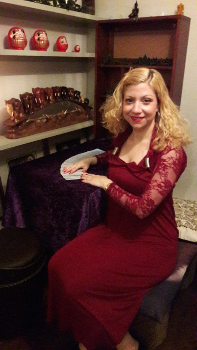Mystic Goddess spiritualevents.co.uk tarot card reader london camden north london