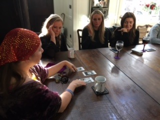 Phoenix tarot psychic card reader for hire london spiritualevents.co.uk corporate event uk oxford