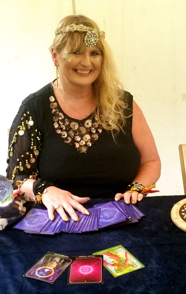 Natasha Rose spirit medium spiritualevents.co.uk tarot palm reader