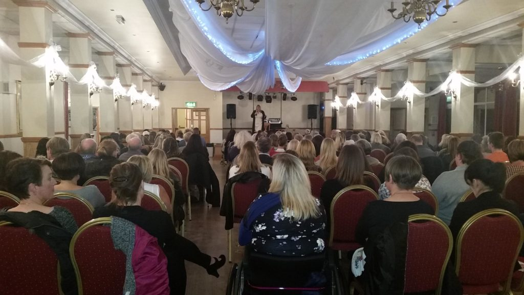Natasha-Rose www.spiritualevents.co.uk Mediumship demonstration UK England Scotland Wales London Leeds Hull