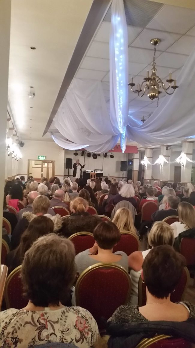 Natasha-Rose www.spiritualevents.co.uk Mediumship demonstration UK England Scotland Wales