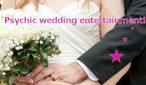 psychic wedding entertainmetn ideas spiritualevents.co.uk london leeds manchester glasgow york brighton