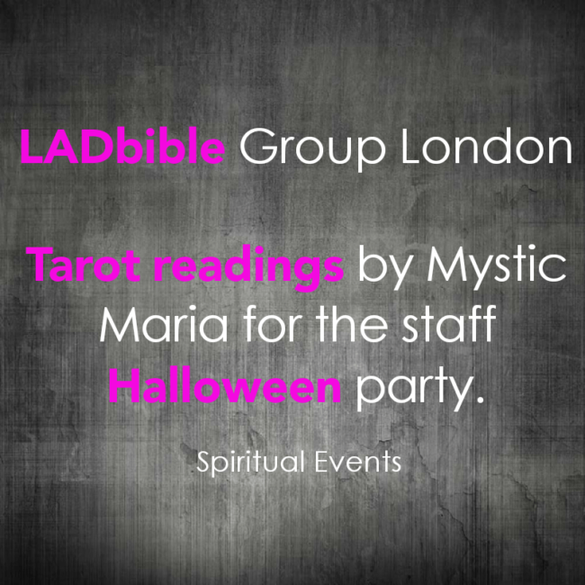 Spiritual Events Psychics for hire London