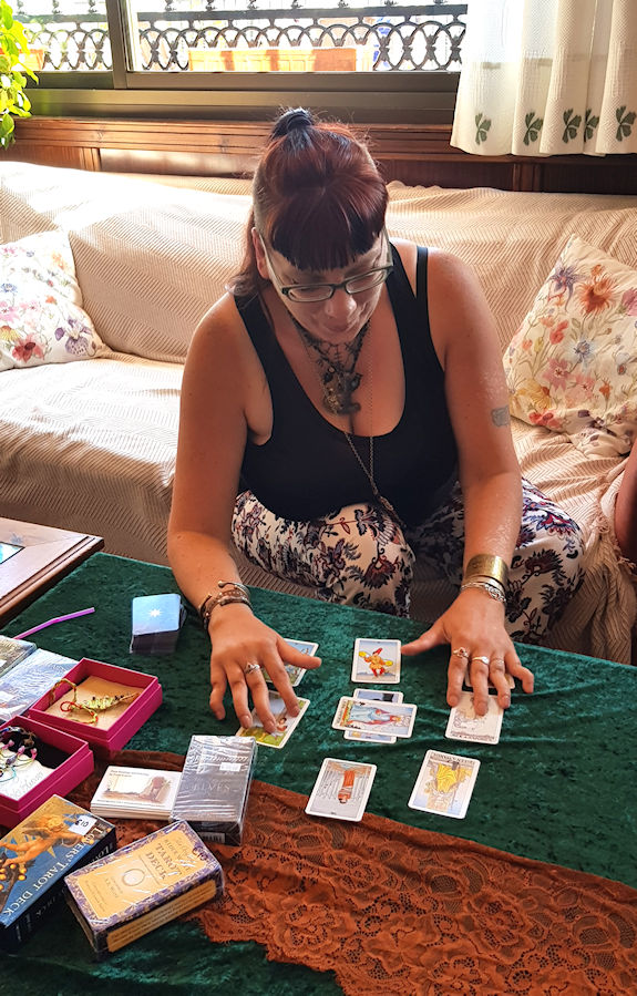 Hedvig Starhawk Psychic Psychic, Tarot, reader and a real Witch. spiritual events uk marbella spain costa del sol