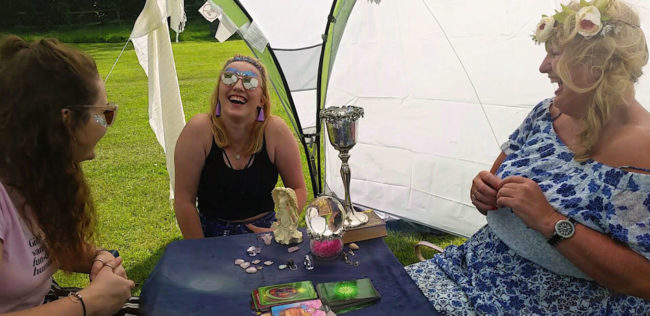 natasha rose psychic traot card reader party event wales scotland lincoln spiritualevents.co.uk festival act
