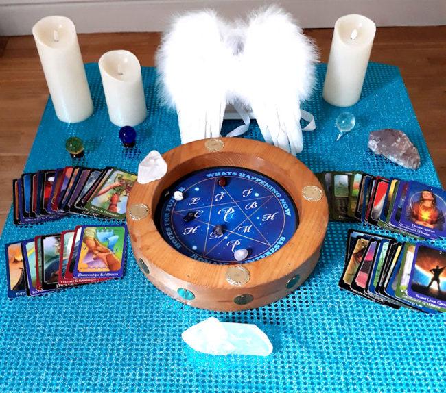 spiritual angel spiritualevents.co.uk nottinghamshire psychic medium derby tarot reader