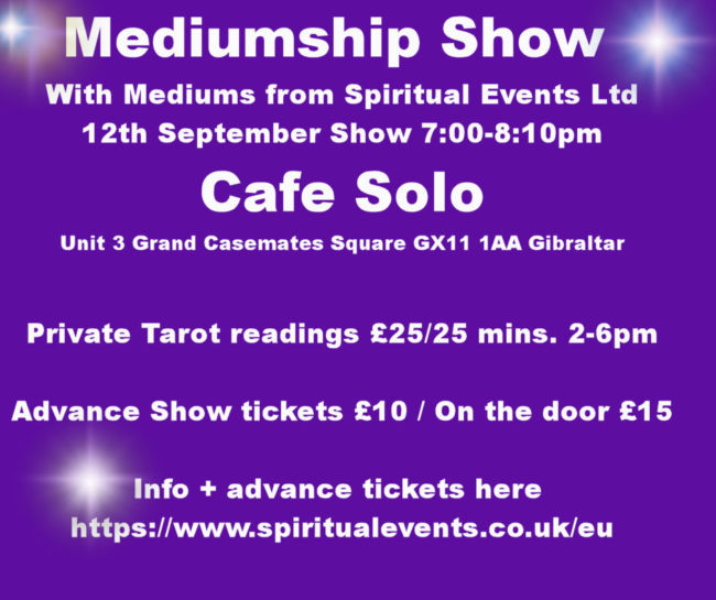 cafe solo psychic night gibraltar