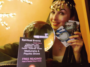 psychic event spain with Luna spiritualevents.co.uk