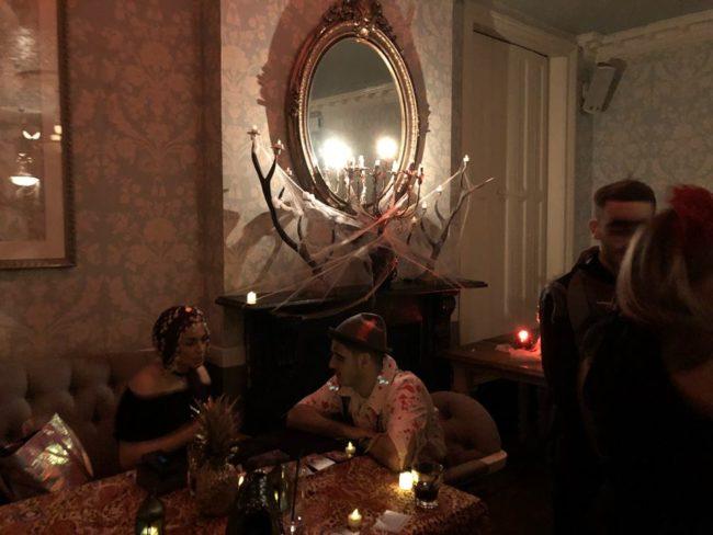 Luna Halloween party tarot reader spiritualevents.co.uk