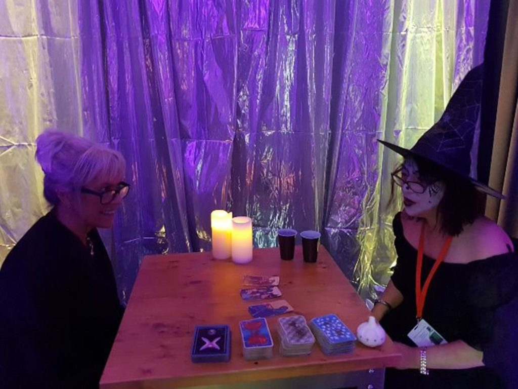 Halloween tarot readers for hire UK spiritualevents.co.uk