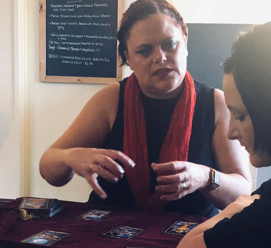 lady kay tarot psychic reader wales for hire spiritualevents.co.uk