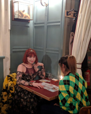 Pixie wilde tarot reader oxford street london spiritualevents.co.uk corporate event london ideas chelsea