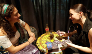 luna kings cross birthday party spiritualevents.co.uk tarot palmistry reader for hire london
