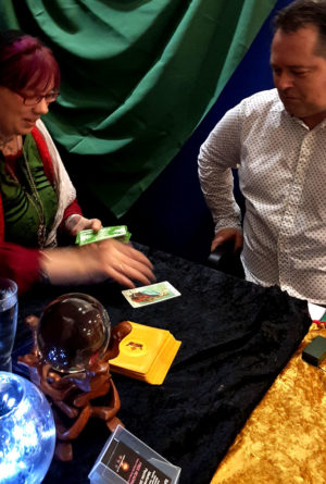 """Hedvig Starhawk Birmingham football stadium tarot reader spiritualevents.co.uk"