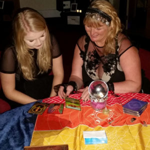Dec xmas party natasha rose psychic for hire spiritualevents.co.uk Lincolnshire