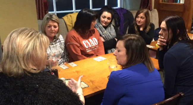 psychic supper dinner party london wales spiritualevents.co.uk
