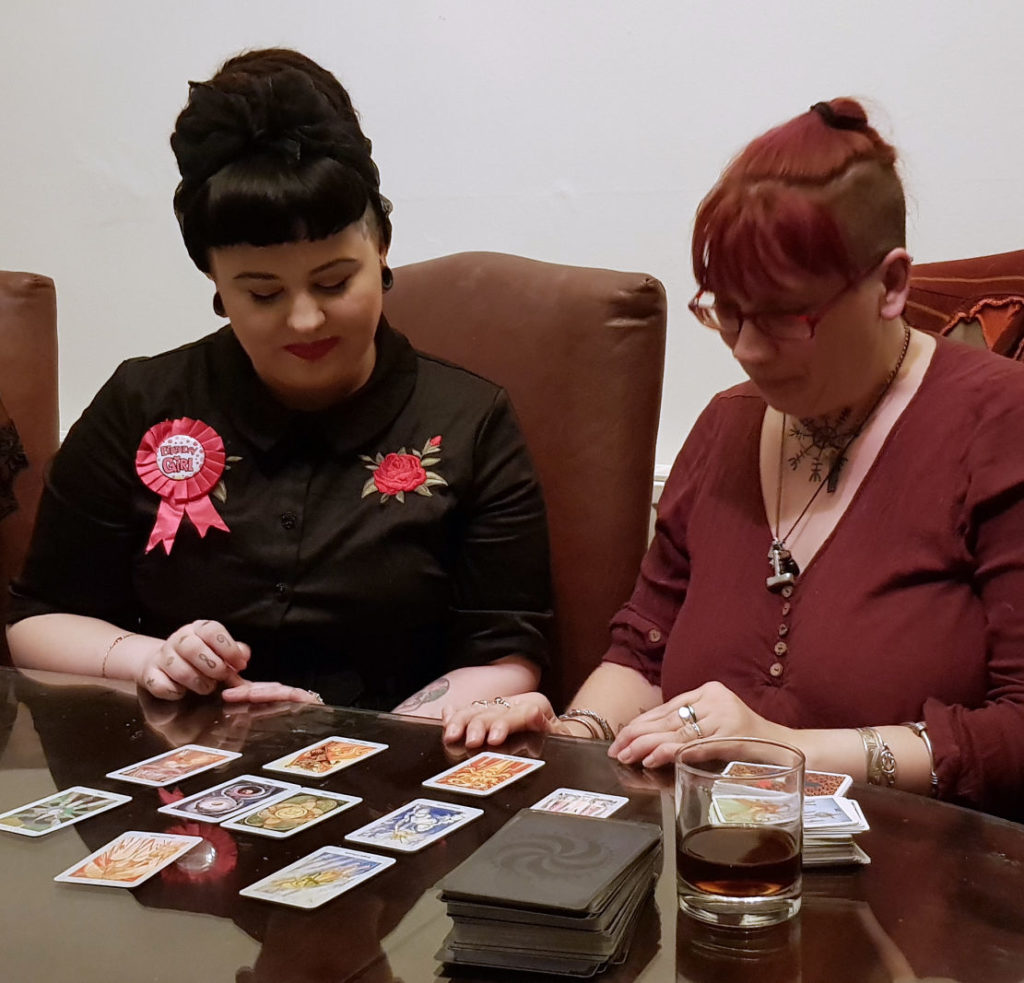 tarot reader birthday party lake district UK spiritualevents.co.uk
