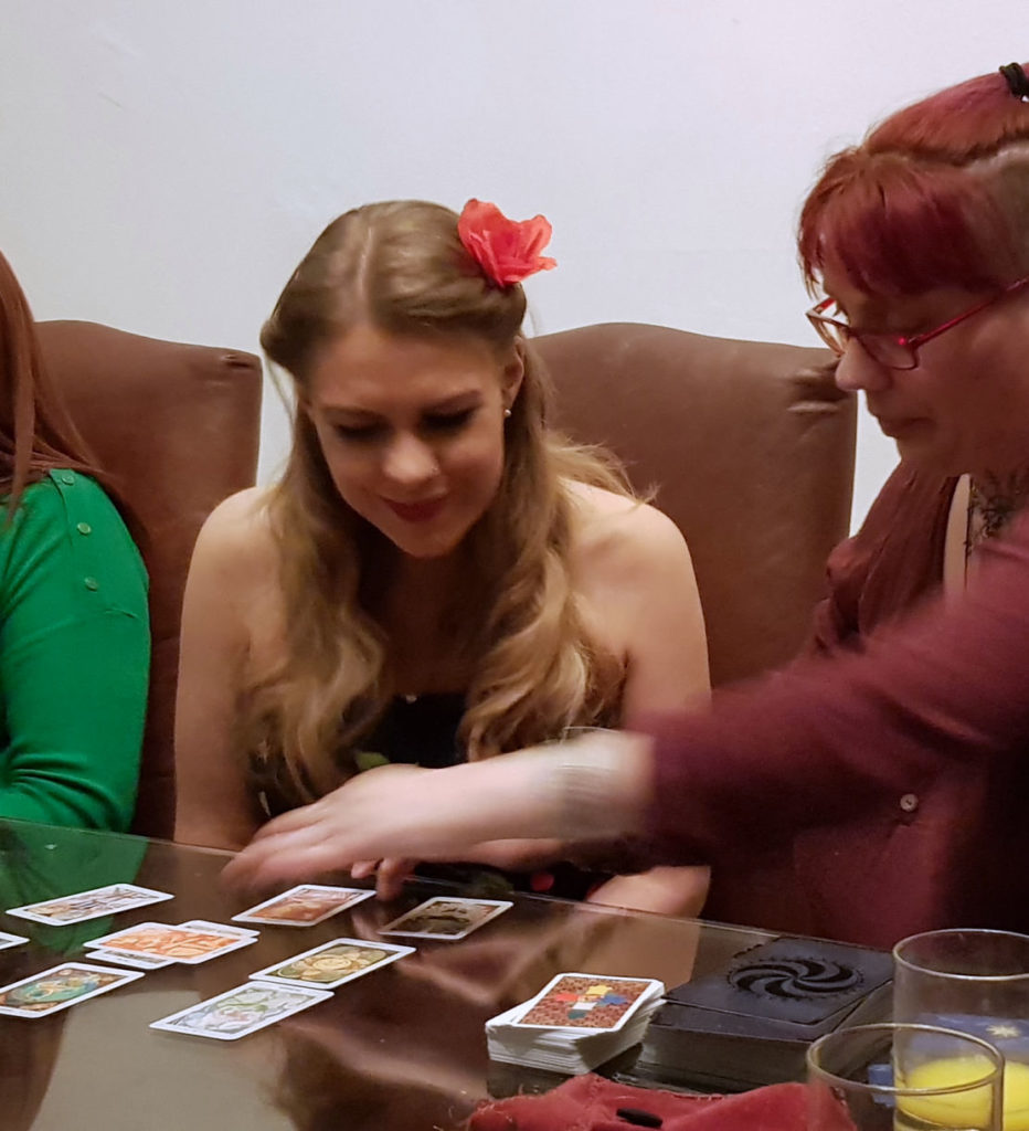 tarot reader birthday party lake district psychic for hire UK spiritualevents.co.uk
