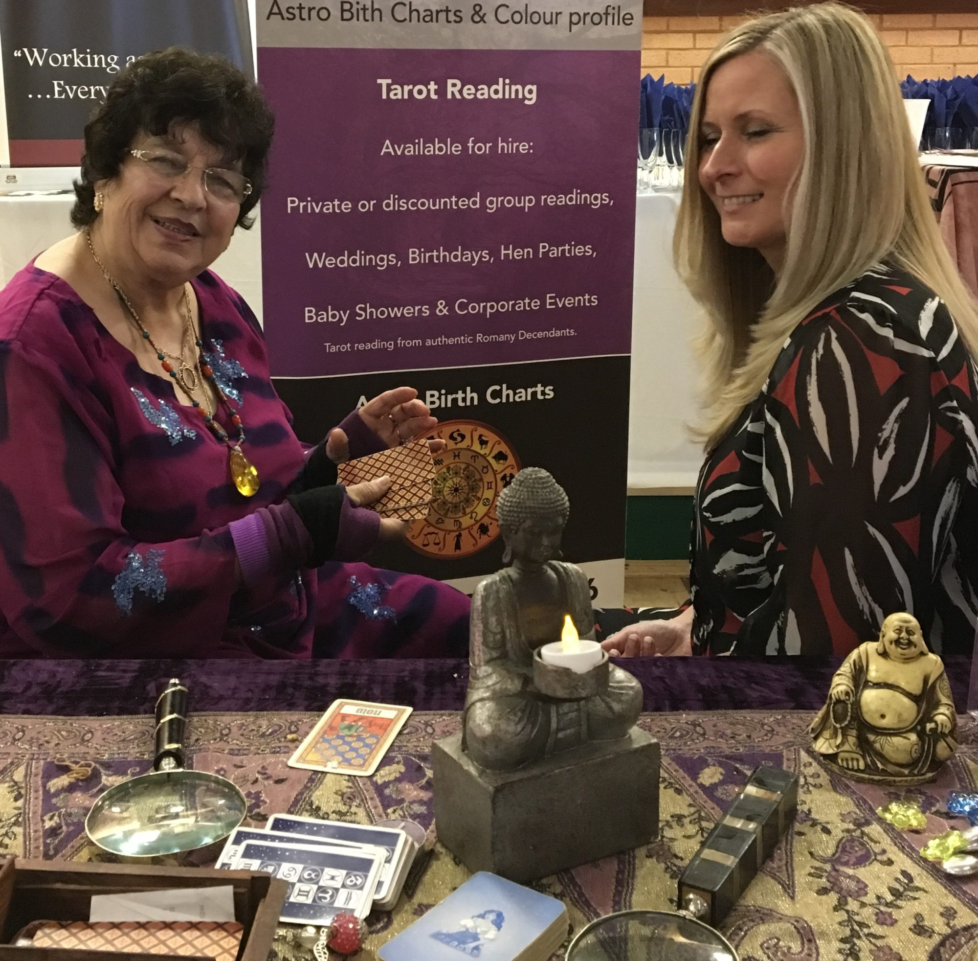 Alexis Palm and Tarot Reader
