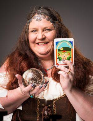 Dee Vybar tarot reader for hire birmingham