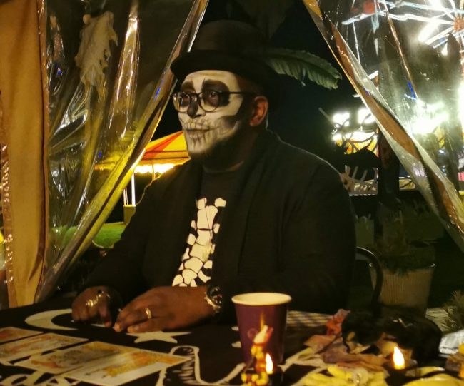 psychic osiris spiritualevents halloween corporate event oxford
