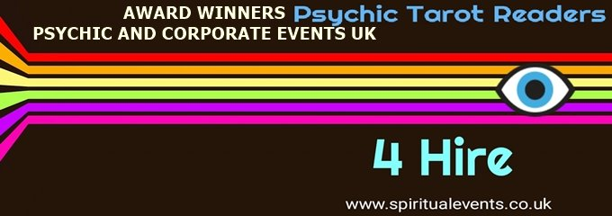 Award winners psychic corporate events UK