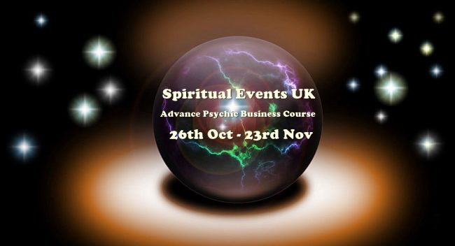 pritualevents.co.uk advance psychic business course online