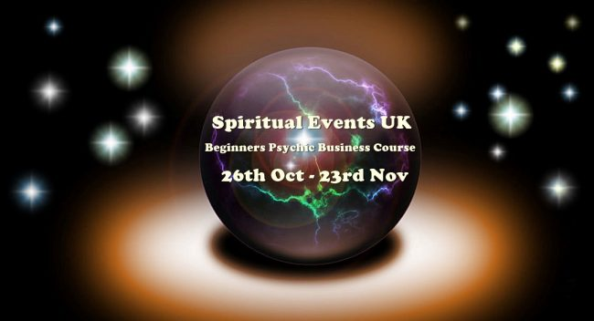 spritualevents.co.uk psychic business course online