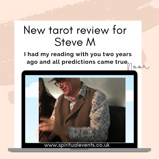 Psychic Tarot reader views best psychics spiritualevents.co.uk