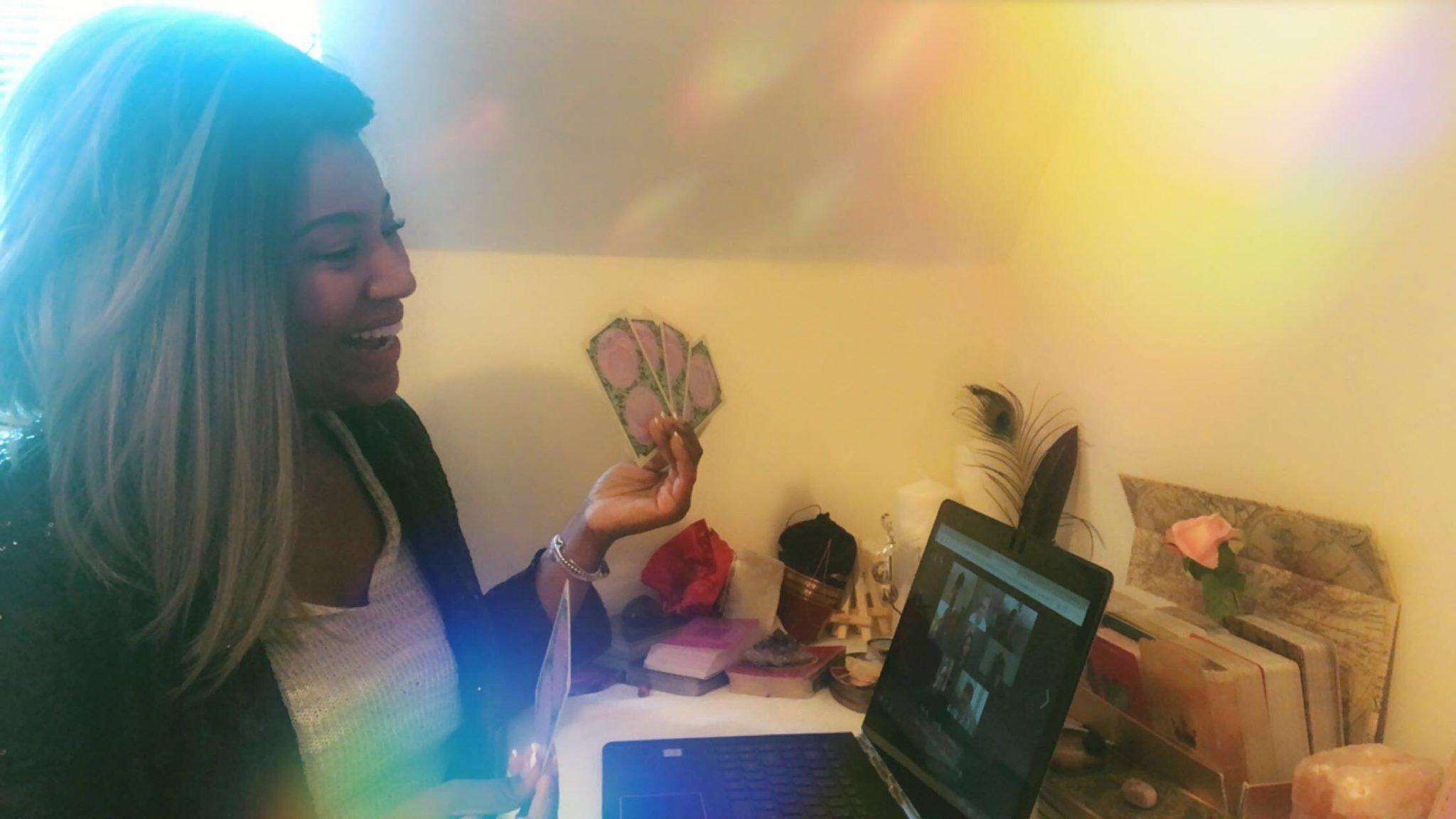 Psychic Webcam Party