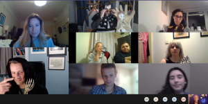 virtual psychic webcam corporate