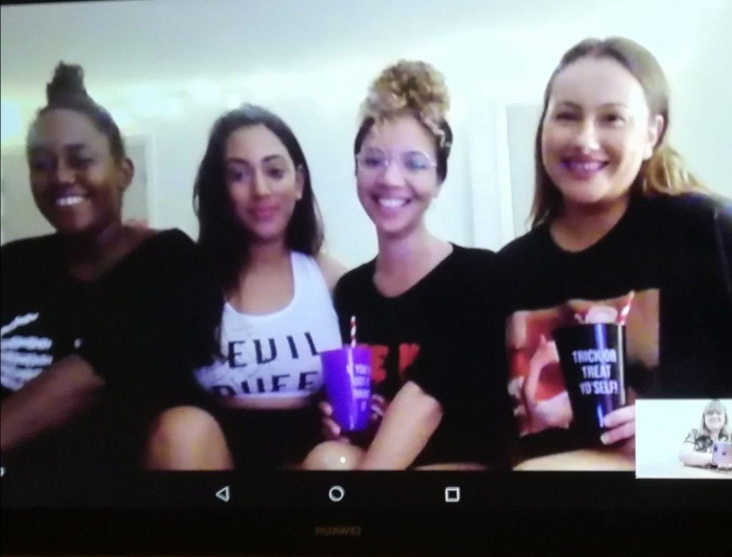 webcam virtual party psychic tarot spiritualevents.co.uk
