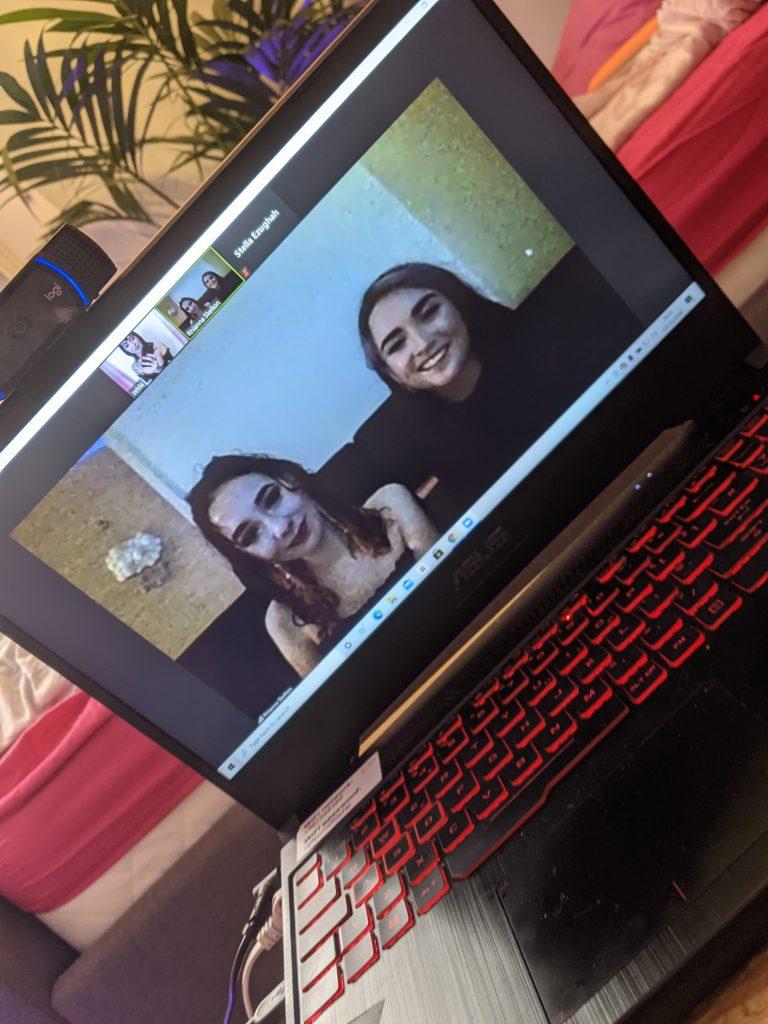 pixie wilde tarot reader webcam